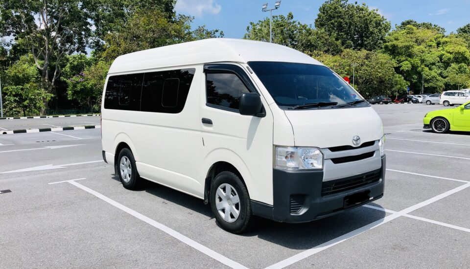 Toyota Hiace 2.5 Manual 2016